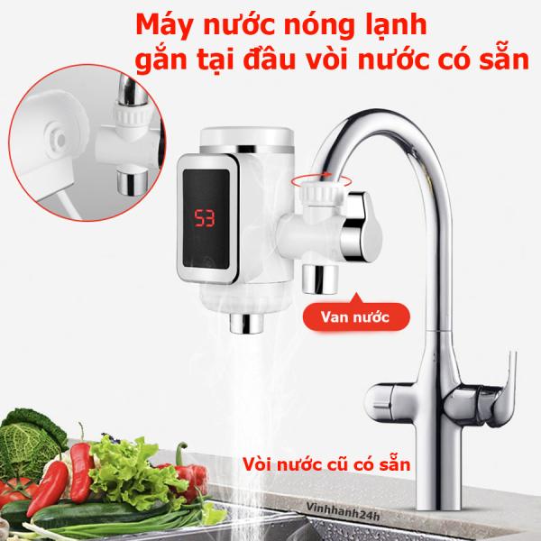 Bảng giá Máy nước nóng lạnh trực tiếp gắn tại đầu vòi nước có sẵn Điện máy Pico