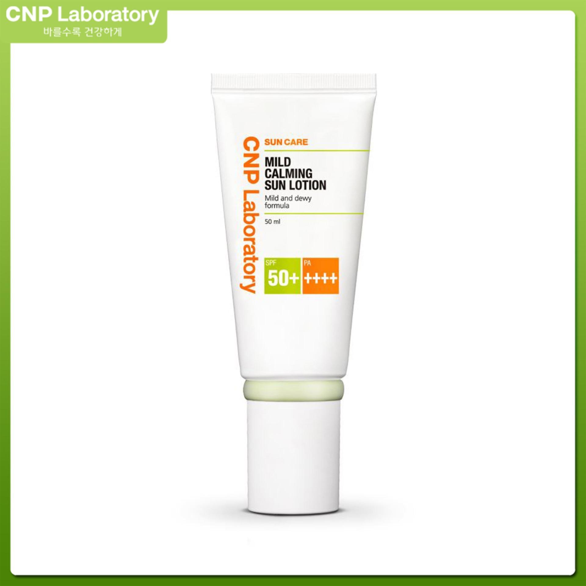 Sữa chống nắng dịu da CNP Laboratory Mild Calming Sun Lotion SPF50/PA++++ 50ml