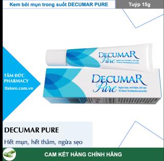 Kem bôi mụn Decumar pure 15g (dercuma dercumar decuma) thumbnail