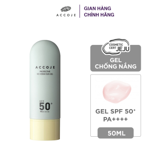 Gel chống nắng Accoje Protective No Sebum Sun Gel SPF 50+ PA++++ 50ml thumbnail