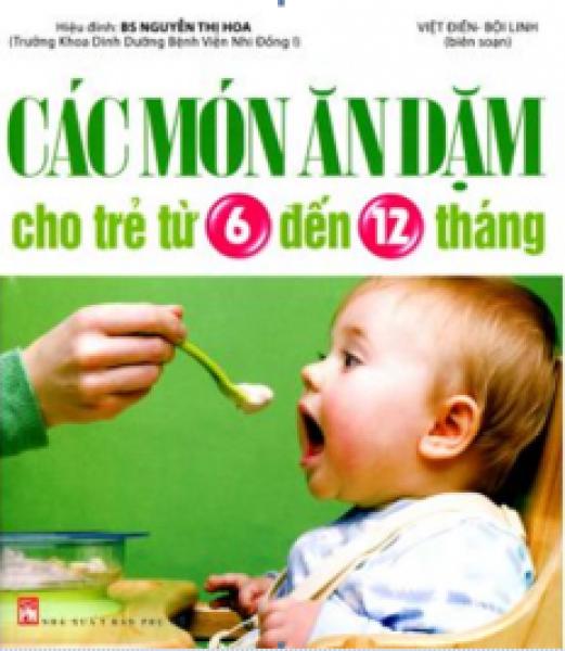 Mua Fahasa - Các Món Ăn Dặm Cho Trẻ Từ 6 Đến 12 Tháng