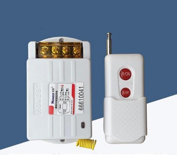 Công tắc điều khiển từ xa 1KM công suất lớn HT-6220 - Bật tắt máy bơm từ xa HT-6220
