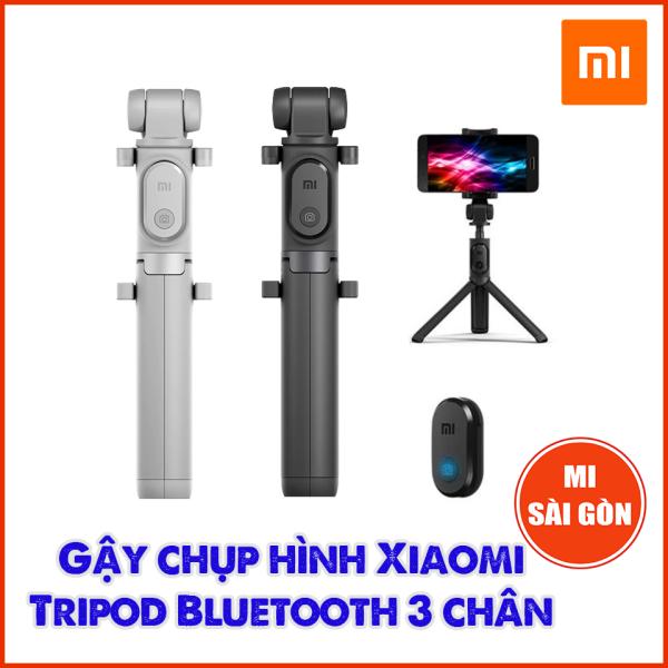 Gậy tự sướng Xiaomi Selfie Stick Tripod Bluetooth 3 chân ( 1 cái đen )