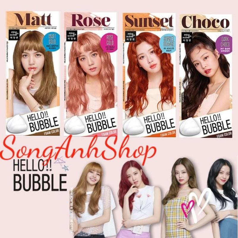 Nhuộm Tóc Dạng Bọt Miseen Scène Hello Bubble Foam Color giá rẻ