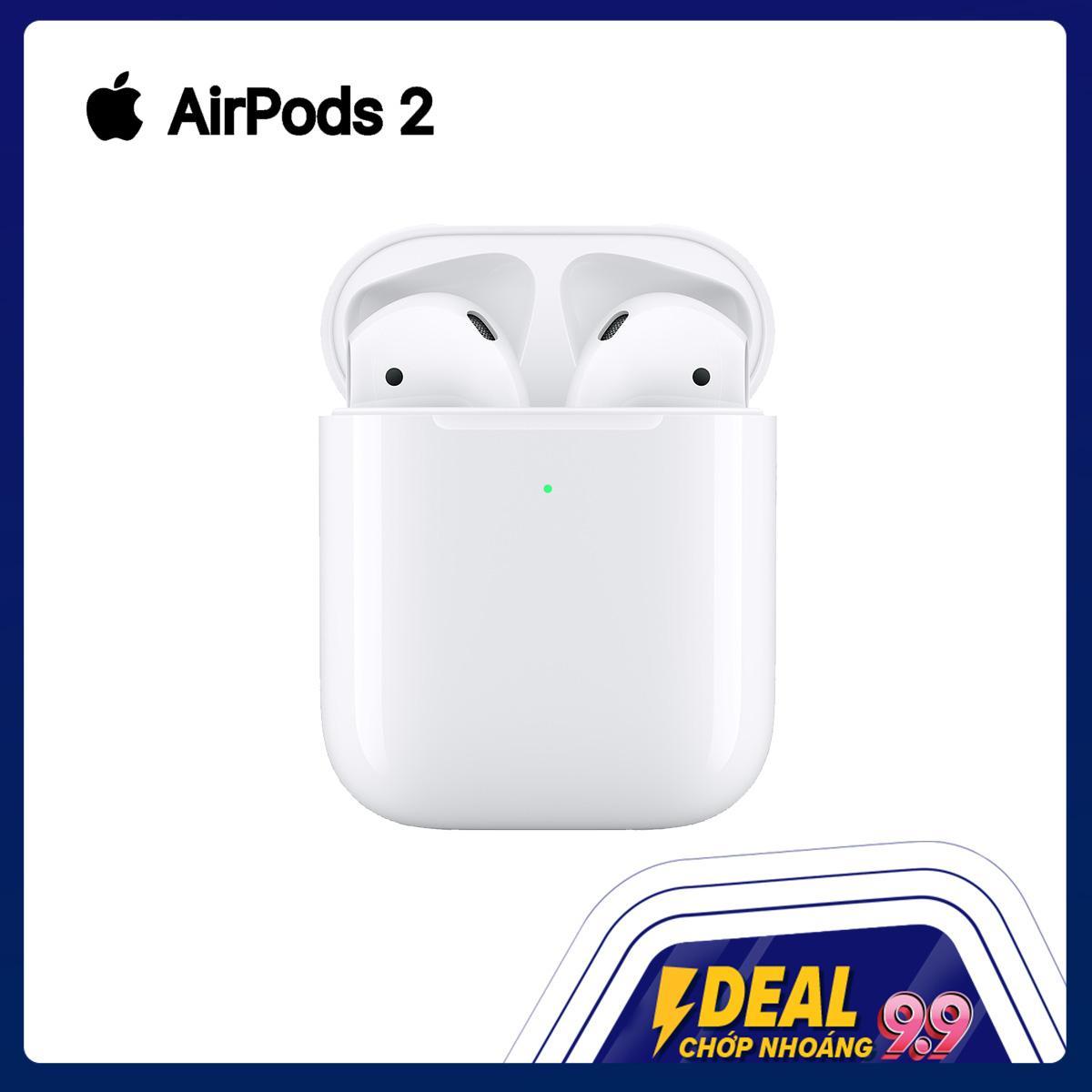 Tai Nghe Bluetooth Apple AirPods 2 bản sạc có dây