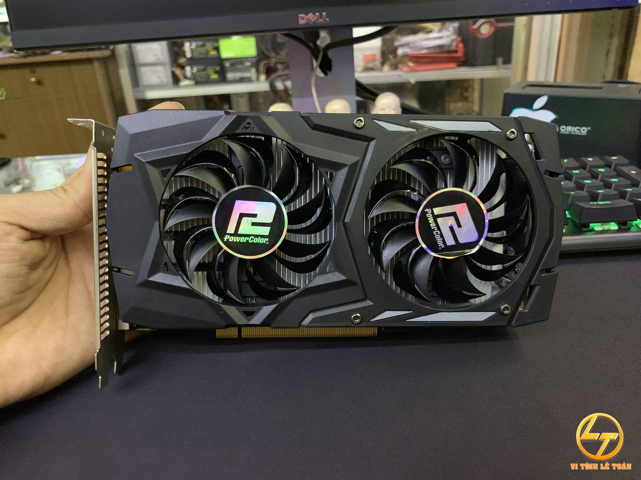 VGA POWERCOLOR RX460 4GB DDR5 2 FAN (Bảo hành 06/2019)