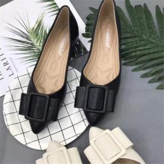 Giày búp bê nữ mũi nhọn mặt vuông - BB nhọn-B9 - BB nhọn-B9 thumbnail