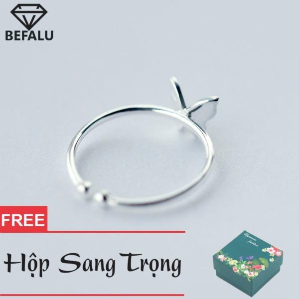 Nhẫn Nữ Bạc S925 Phong Cách Hàn Quốc Cánh Bướm N19 Nhẫn Freesize
