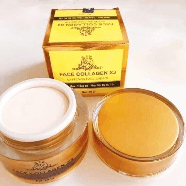 [Chính Hãng] Kem face collagen x3 Đông Anh
