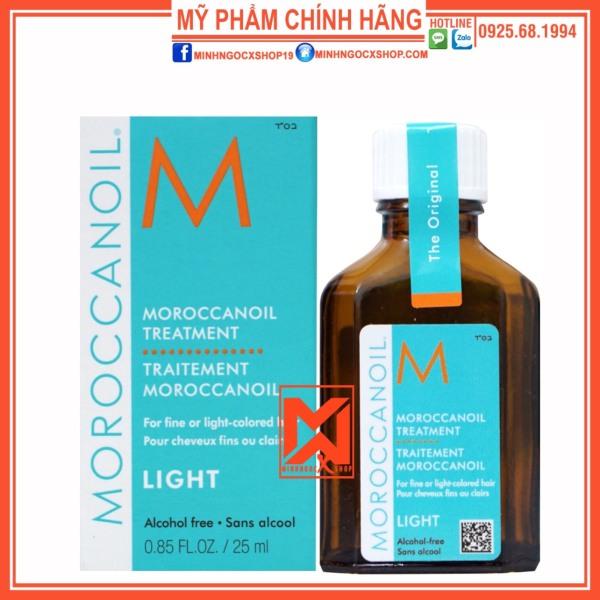 DẦU DƯỠNG TÓC MOROCCANOIL TREATMENT LIGHT 25ML CHÍNH HÃNG