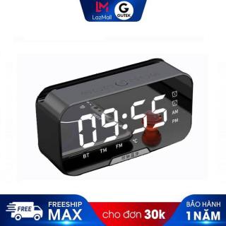 Loa bluetooth không dây kiêm đồng hồ báo thức Gutek G11 màn hình tráng gương nghe đài fm thumbnail