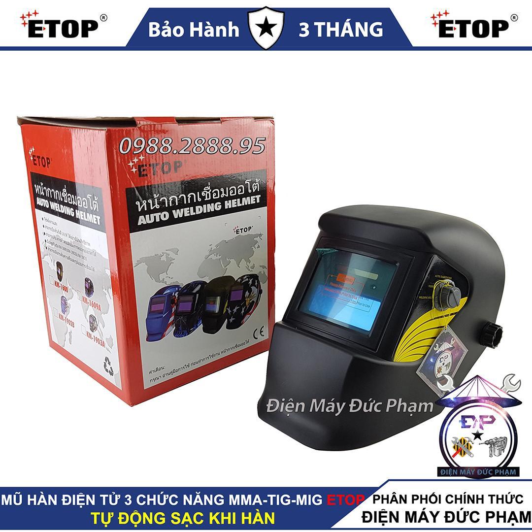 Mũ hàn điện tử ETOP Thái Lan