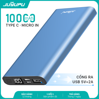 Sạc dự phòng 10000mAh chất lượng cao màn hình hiển thị cục pin sạc điện thoại mini Power Bank chính hãng FENGZHI LIFE J352 dành cho iPhone Samsung OPPO VIVO HUAWEI XIAOMI cục pin cao cấp thumbnail