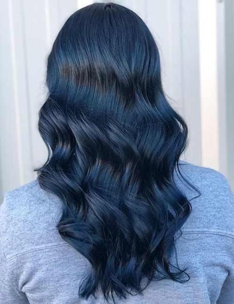 Thuoc nhuộm tóc màu xanh đen (Tẩy+Không tẩy)
