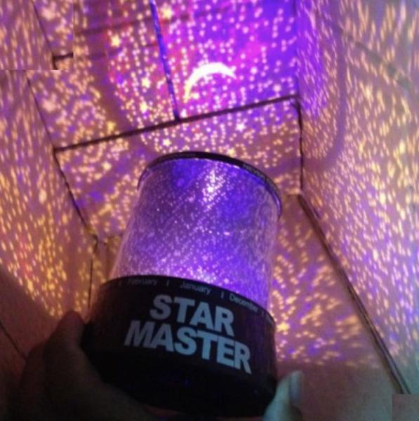 Đèn Ngủ Tạo Sao ngân hà - Star Beauty cực đẹp j1-0 (Đen) cho không gian của bạn trở nên lãng mạn và ấm áp hơn.