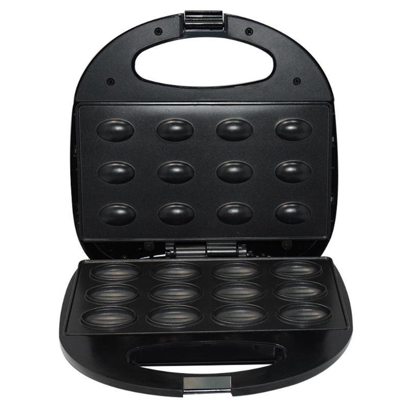 Household Electric Walnut Cake Maker Sandwich Breakfast Machine Sandwich Iron Toaster Baking Breakfast Pan Oven UK Plug