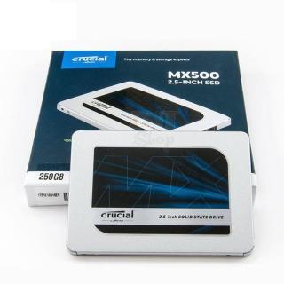 Giá Sốc-Shop Mới Ổ cứng SSD Crucial MX500 3D NAND 2.5-Inch SATA III 250GB CT250MX500SSD1 - Sa n Phâ m Cam Kê t Châ t Lươ ng thumbnail