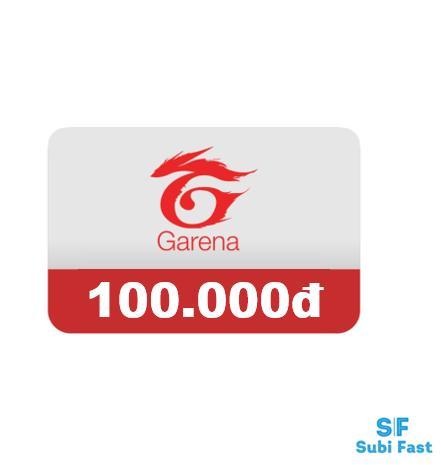 Thẻ Garena 100K - Nhận Mã Siêu Nhanh [sms] Uy Tín, ưu đãi Mỗi Ngày Cùng Giá Khuyến Mãi Hot