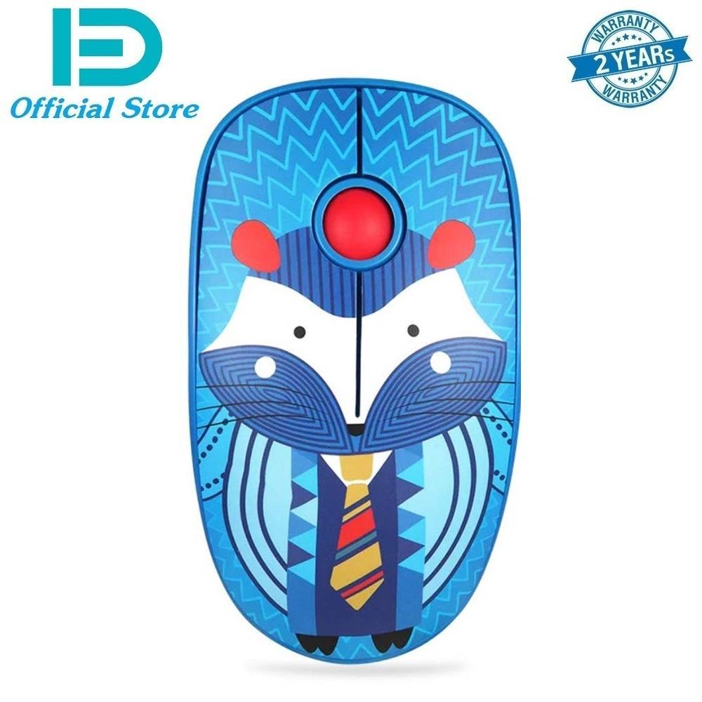 Chuột không dây Wireless FD V8 thiết kế dễ thương, màu sắc sinh động, thích hợp cho bạn nữ văn phòng, pin dùng đến 12 tháng - Hãng phân phối chính thức