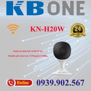 Camera IP hồng ngoại không dây 2.0 Megapixel KBVISION KBONE KN-H20W thumbnail