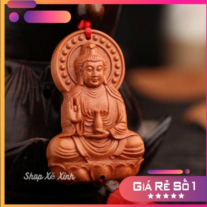 Dây Phật Quan Âm Bồ Tát  treo xe ô tô, vật phẩm phong thủy trang trí xe ô tô, cầu bình an, may mắn trên mọi hành trình. (Shop Xế Xinh)