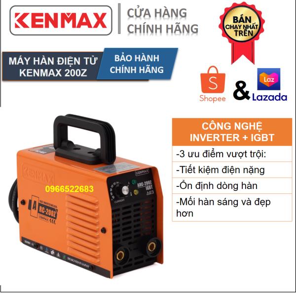 Máy hàn | Kenmax ARC 200Z |Tặng full bộ kiện + thương hiệu Nhật Bản
