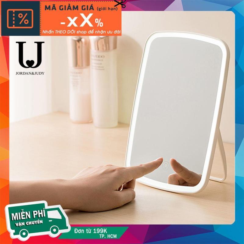 Gương Trang Điểm Để Bàn Có Đèn LED Pin 1200mAh 4 Giờ Sử Dụng Jordan & Judy NV026 Minigoo nhập khẩu