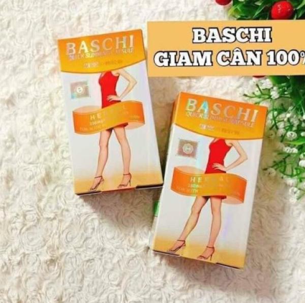 viên uống giảm cân baschi cam thái lan (hộp30 viên) chính hãng