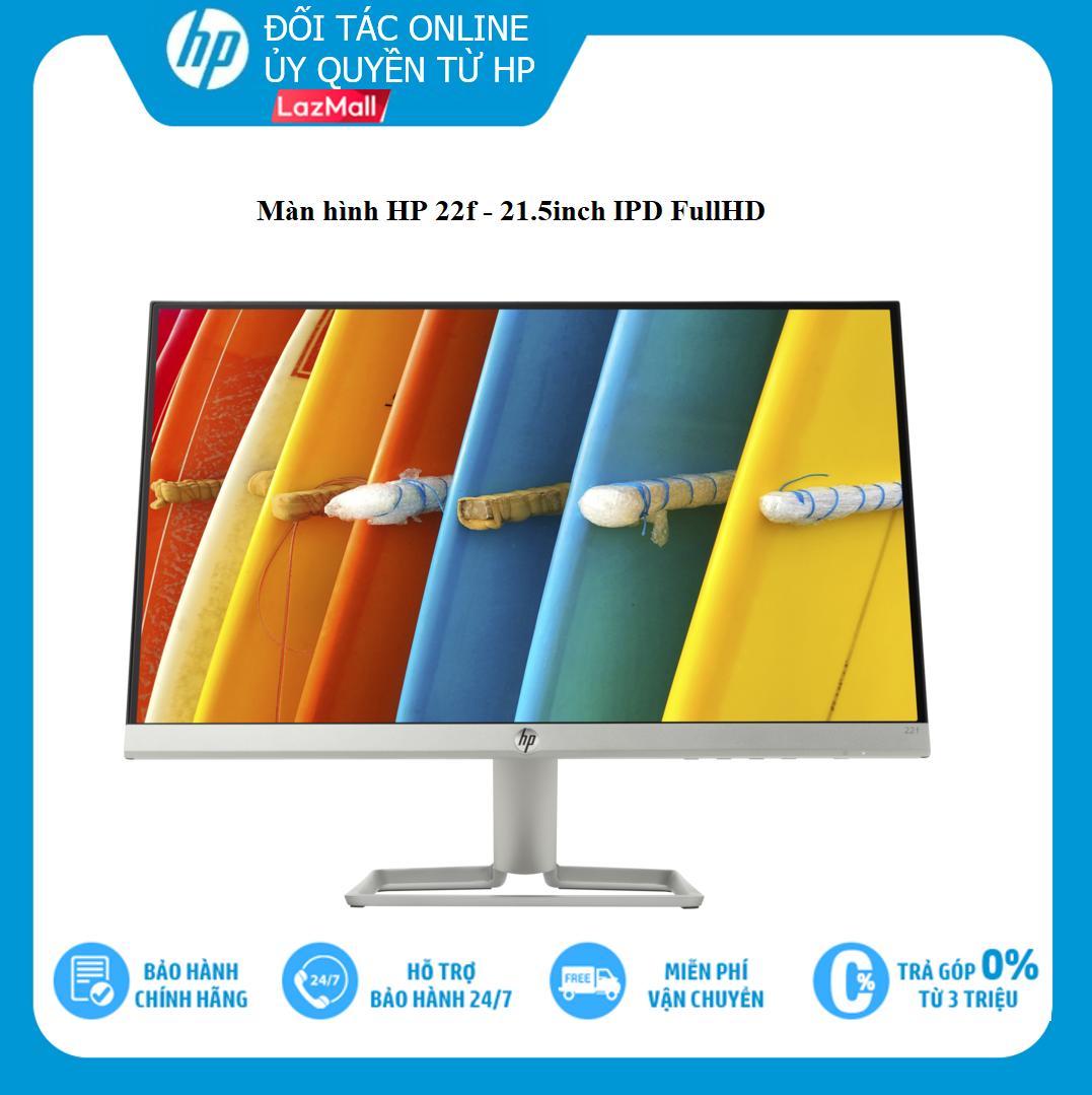 [VOUCHER 20% 27-29/3] Màn hình HP 22f 21.5 inch 3AJ92AA IPS - Hàng chính hãng, sản phẩm sẽ là một thiết bị hỗ trợ rất tốt cho công việc và giải trí của bạn