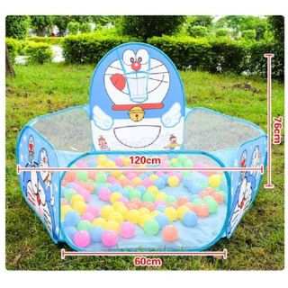 ĐỒ CHƠI VẬN ĐỘNG - Lều chơi ném bóng tai nhà cho bé trai và bé gái trên 1 tuổi thiết kế in hình nhân vật hoạt hình đáng yêu, khung thép dẻo dễ lắp đặt và gấp gọn hoặc mang đi xa GIÁ ƯU ĐÃI thumbnail