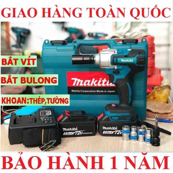 Máy Siết Bulong MAKITA 72V JANPAN Technology