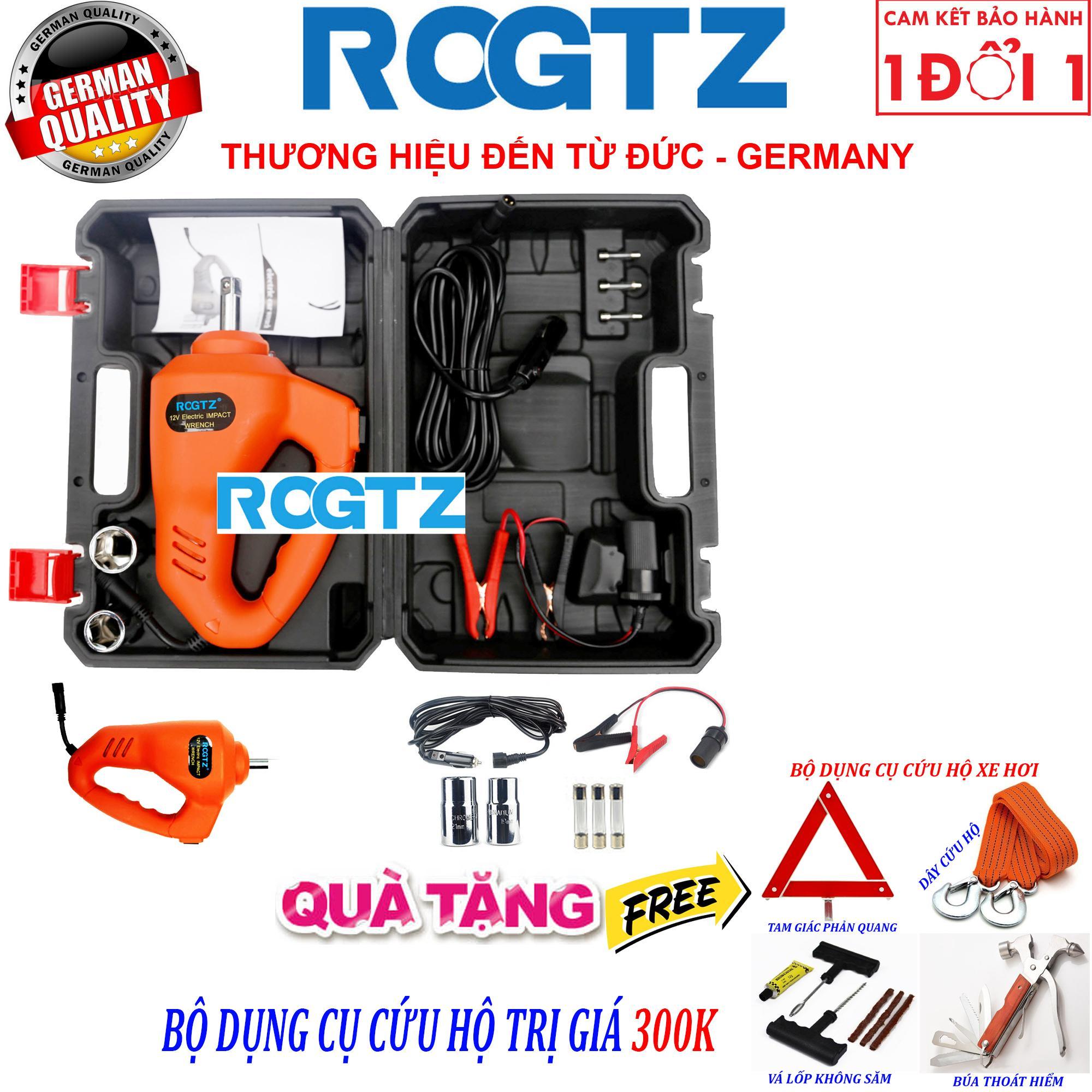 (ROGTZ - Thương hiệu đến từ Đức) Bộ dụng cụ tháo ốc chạy điện 12V - Bộ dụng cụ ra lốp chạy điện 12V