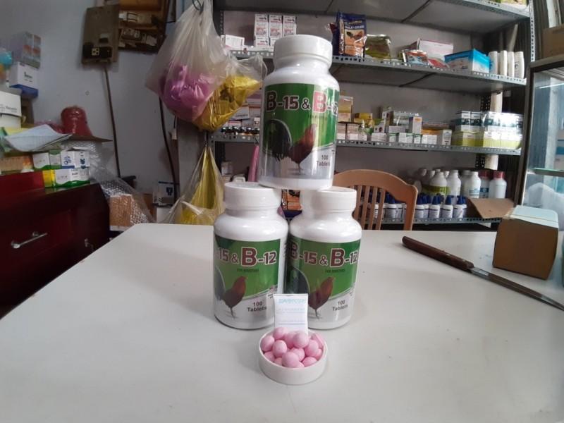 Thuốc Nuôi Gà Đá - Tăng Bo Gà Trước Khi Đá B15&B12 lẻ 20v