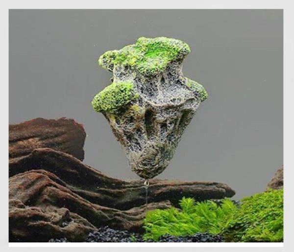 Đá Bay Lơ Lửng Avatar - TẶNG 1 SAO BIỂN - Phụ kiện trang trí hồ cá, hồ thủy sinh, phong thủy