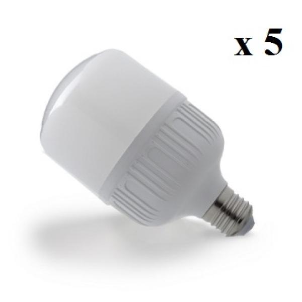 Bộ 5 đèn LED BULD TRỤ Công Suất 40W (Ánh Sáng Trắng)