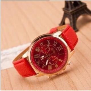 Đồng hồ thời trang nam nữ Geneva dây da G283 thumbnail
