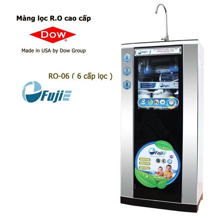 Máy lọc nước tinh khiết RO thông minh FujiE RO-09 ( 9 cấp lọc - bao gồm tủ cường lực )