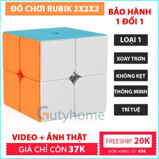 Rubik Đồ Chơi Phát Triển Trí Tuệ 2x2x2, 3x3x3 - Rubic Magic Cube 3x3 Nam Châm Giá Rẻ Promotion HÀNG XỊN Xoay Nhanh Mượt, Bẻ Góc Tốt (shop có đủ rubik 2x2x2, 3x3x3, 4x4x4, 5x5x5, 6x6x6, 7x7x7) - Guty Home thumbnail