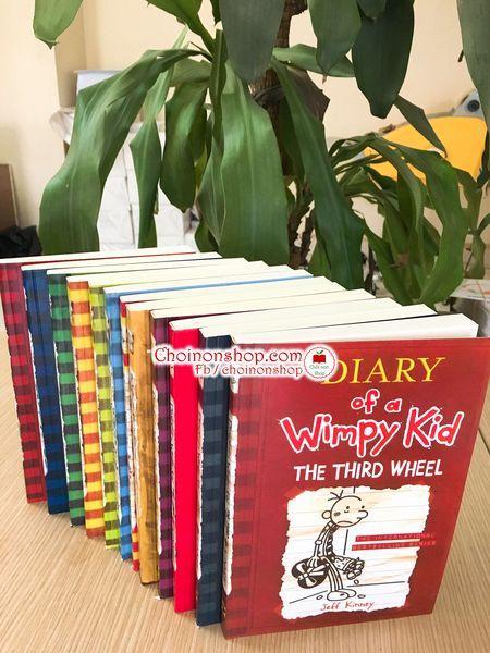Mã Khuyến Mại Khi Mua Bộ Sách Nhật Ký Chú Bé Nhút Nhát - DIARY OF WIMPY KID- 12 Cuốn + File Nghe - SÁCH IN CHẤT LƯỢNG CAO, CAM KẾT ẢNH THẬT  CKM31