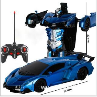 Đồ chơi, xe Oto điều khiển từ xa biến hình ROBOT dành cho trẻ em thumbnail