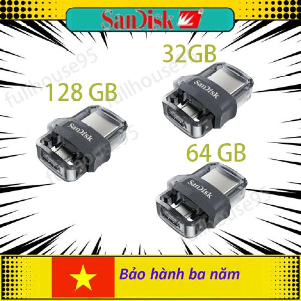 Bảng giá Thẻ Nhớ sandisk Ultra Dual Flash 16 Gb 32 Gb 64 Gb 128 Gb  M3.0 Usb 3.0 Otg Cho android & Máy Tính Phong Vũ