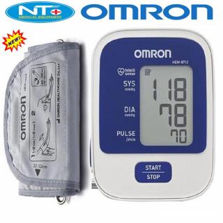 Máy đo huyết áp bắp tay Omron HEM-8712, Máy đo huyết áp điện tử bắp tay Nhật bản Omron HEM-8712 - Dụng cụ đo huyết áp, nhịp tim cho kết quả nhanh chóng, chính xác bảo vệ sức khỏe thumbnail