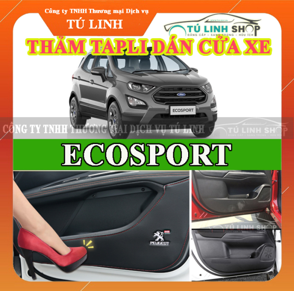 Bộ 4 Thảm Tapli dán cánh cửa chống trầy xước xe ECOSPORT