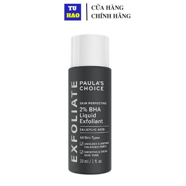 Tẩy Da Chết Paula's Choice BHA 2% 30ml Skin Perfecting 2% BHA Liquid cao cấp