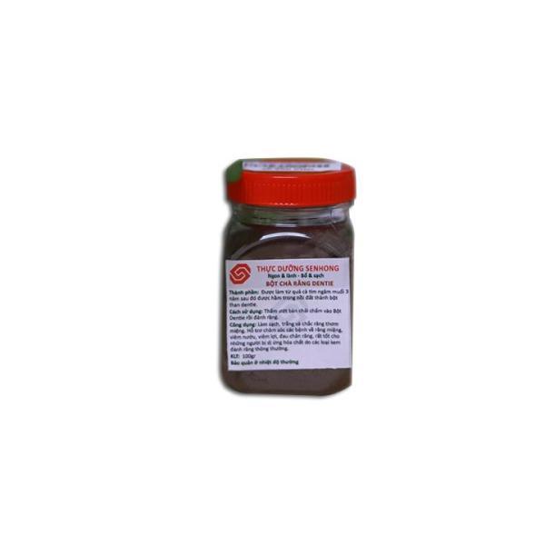 Bột chà răng dentie (100gr) - Thực dưỡng Sen Hồng