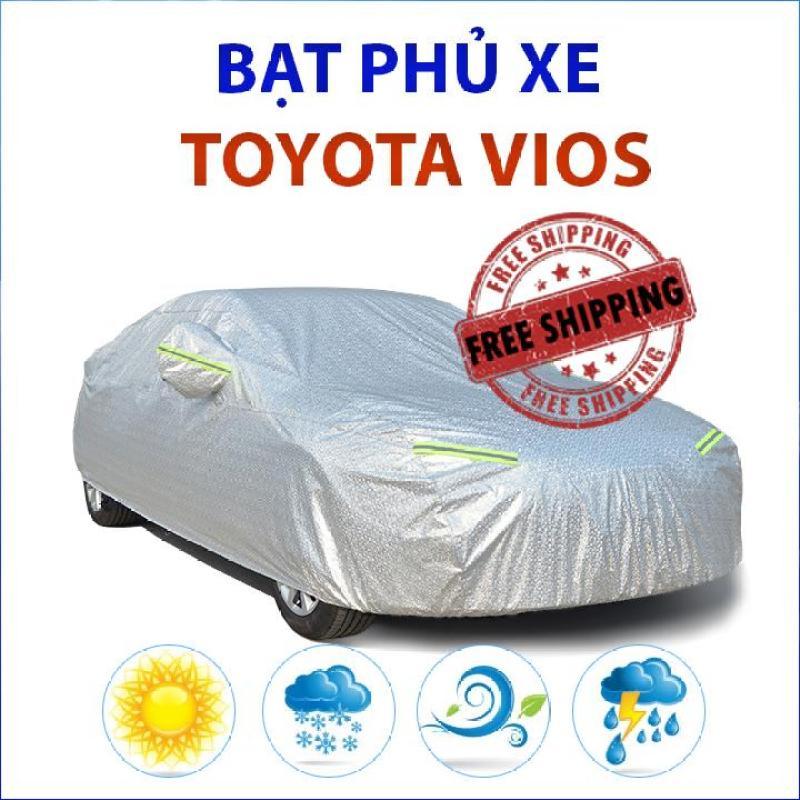 Bạt che phủ xe ô tô Toyota Vios chống nắng mưa, bạt che phủ xe hơi Toyota Vios, bạt trùm xe ô tô Toyota Vios
