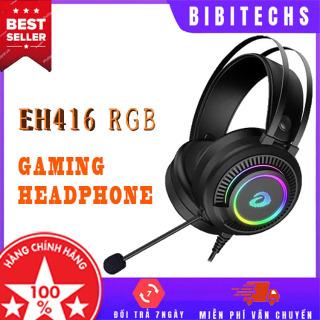 Tai nghe gaming Dareu EH416 - Âm thanh 7.1 - Tai nghe chơi game, tai nghe có dây, tai nghe chụp tai có mic, tai nghe chụp tai chơi game - BiBiTechs thumbnail