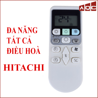 Điều khiển điều hoà HITACHI đa năng sử dụng cho tất cả máy lạnh HITACHI Loại đẹp bền tiết kiệm pin