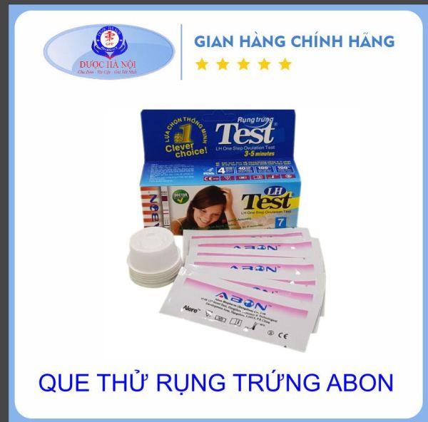 Hộp Test 7 que thử rụng trứng Abon