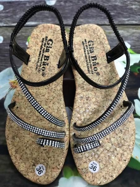 Giày Sandal Xỏ Ngón Phối Dây Hột Thời Trang giá rẻ